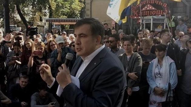 Саакашвили: Акция под Радой продлится до ноября