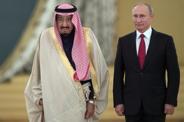 Путин рассказал о переговорах с королем Саудовской Аравии