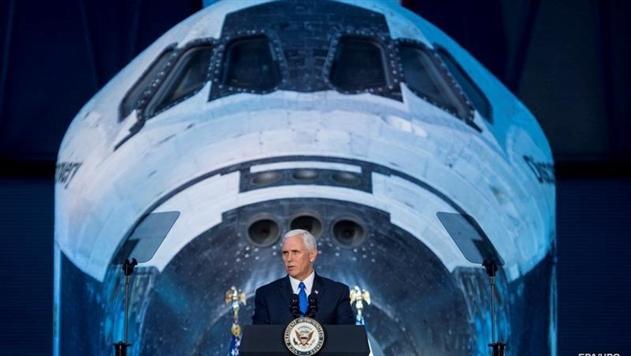 Пенс: США вернут своих астронавтов на Луну