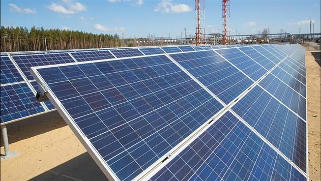 Под Речицей открыли самую большую в стране солнечную электростанцию