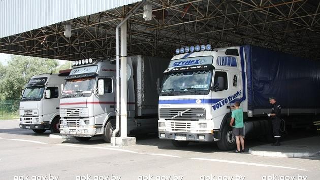 На въезде в Польшу возможны очереди из фур