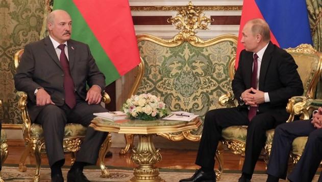 Лукашенко поздравил Путина заявлением о правильности сближения Беларуси и России