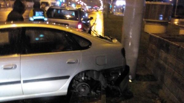 В Минске сильно пьяный водитель вез 4-летнего ребенка и попал в ДТП