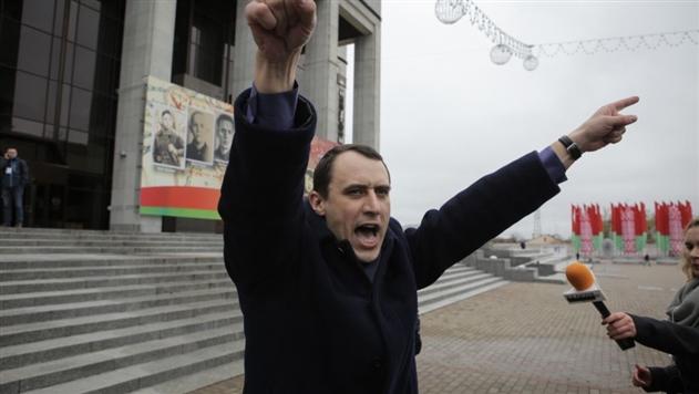 В Минске накануне акции 21 октября на 15 суток арестовали Северинца