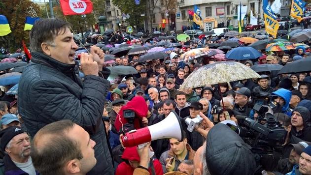 Саакашвили говорит, что его могут убить