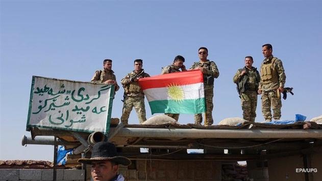 СМИ: Силы Ирака столкнулась с курдским ополчением