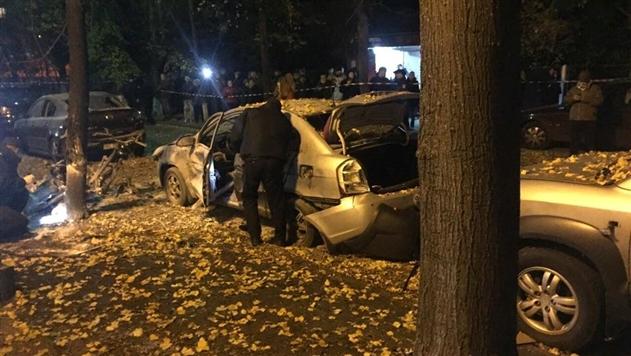 Взрыв в Киеве: пострадали четыре человека