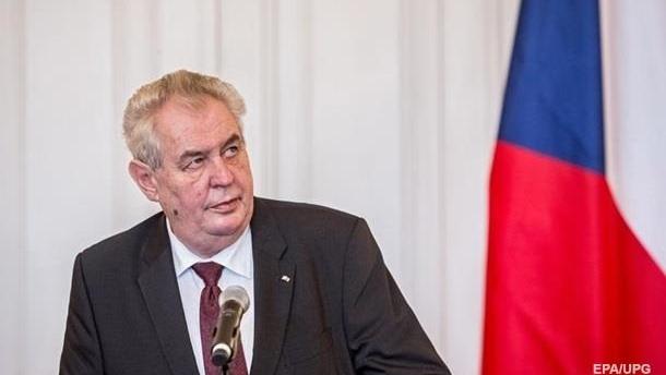 Посольство: Земан высказал свою точку зрения по Крыму