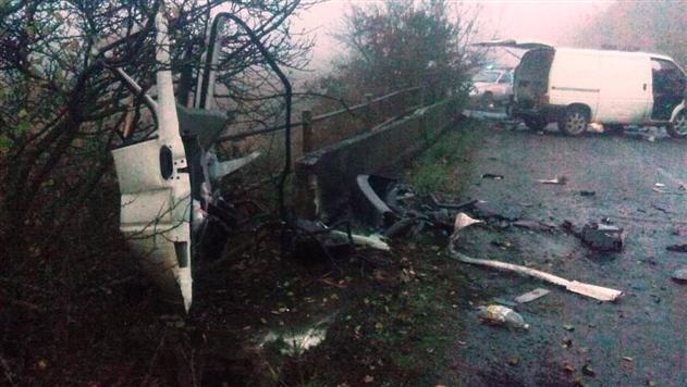 В Житомирской области женщина погибла, выпав из машины
