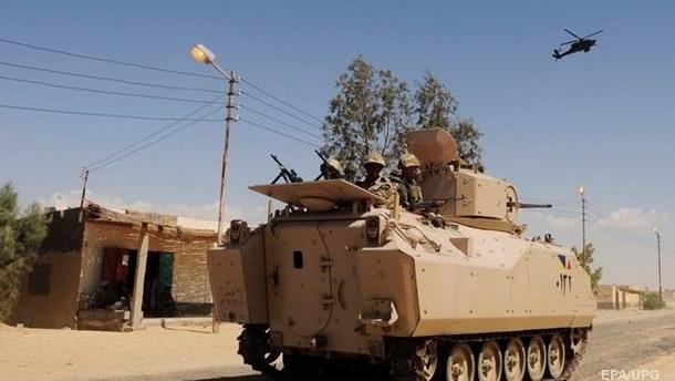 При столкновении с боевиками в Египте погибли 54 силовика