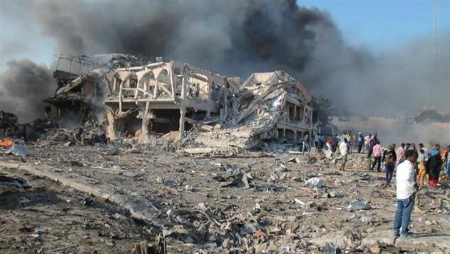 В столице Сомали двойной теракт: десятки убитых
