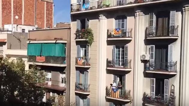 В Каталонии устроили протест