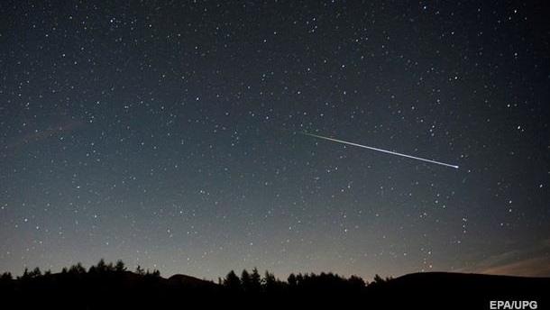 Сегодня и завтра можно будет наблюдать метеоритный дождь