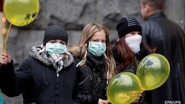 В Украине снизилось количество заболевших гриппом и ОРВИ