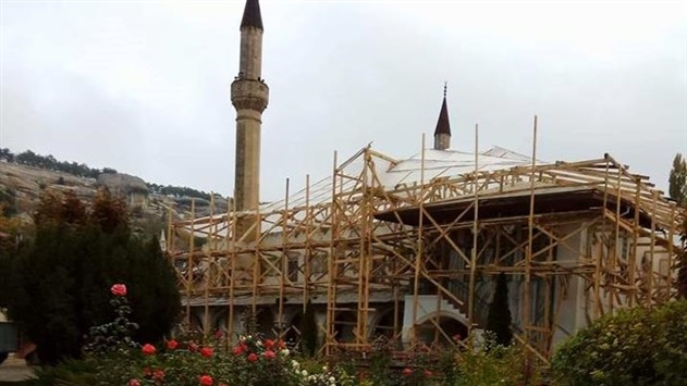 В Бахчисарае повредили Ханский дворец