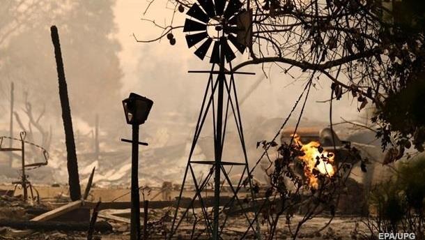 Пожары в Калифорнии: число жертв выросло до 21