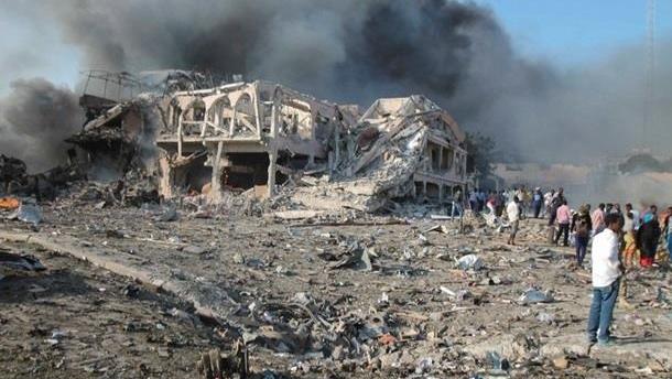 Теракт в Сомали: число жертв выросло до 40