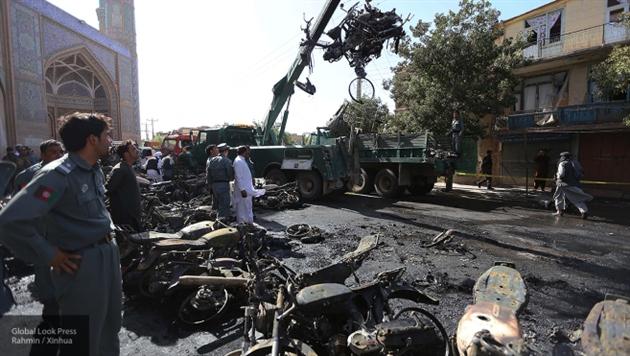 Дипломатический квартал Кабула подвергся мощному ракетному обстрелу