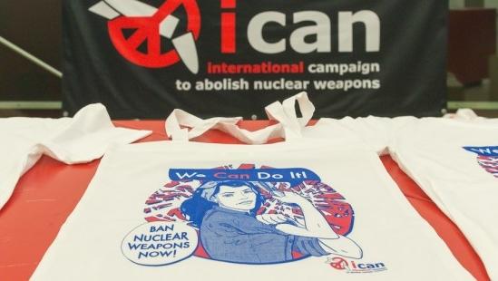 Нобелевскую премию мира получила кампания против ядерного оружия