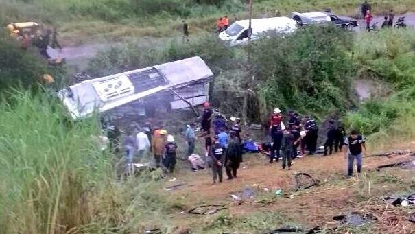 При аварии в Венесуэле погибли девять человек, еще 28 пострадали