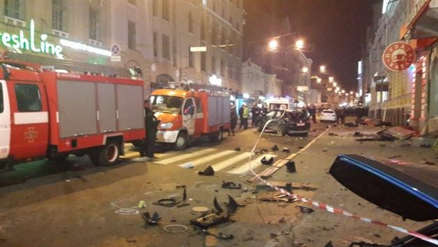 ДТП в Харькове: Девушке на Lexus объявили подозрение