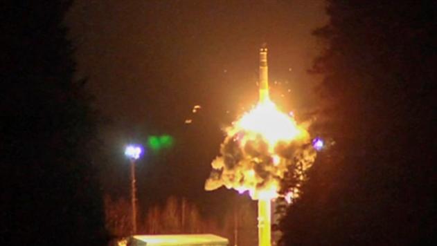 Россия запустила четыре баллистические ракеты