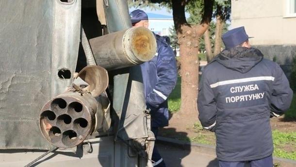 Под Калиновкой нашли почти три тысячи боеприпасов