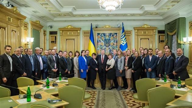Порошенко обсудил реформирование Украины с инвесторами