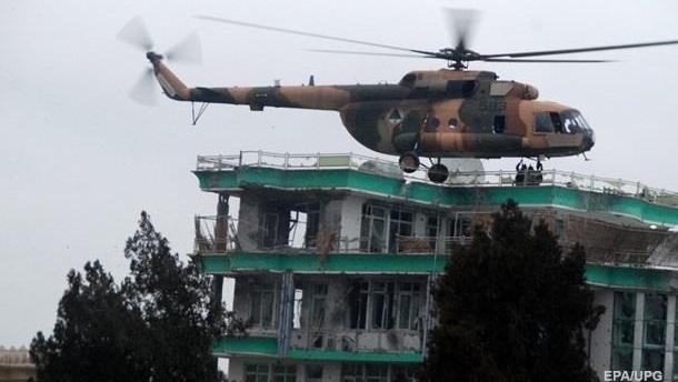 В Афганистане разбился вертолет с военными США