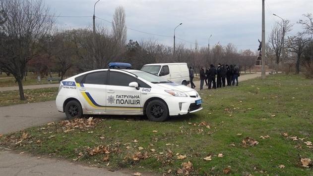 В парке Николаева застрелился пенсионер