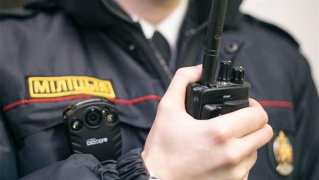 Появилось видео задержания грабителя банка в Могилеве