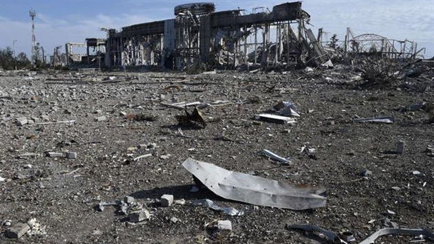 Минюст: Луганский аэропорт был уничтожен ракетами с территории РФ