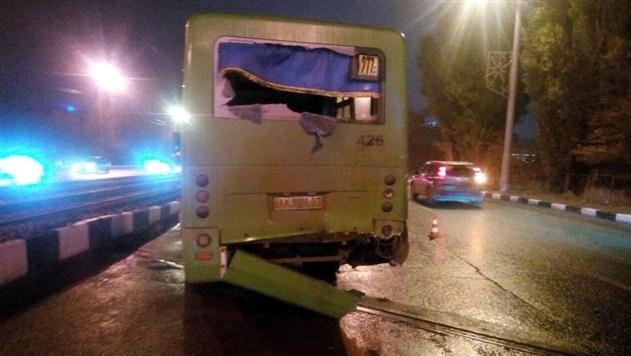 В Харькове в ДТП двух маршруток пострадали 11 человек