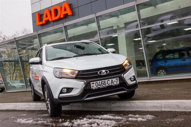 Lada Vesta SW и Lada Vesta SW Cross уже в Минске – фото, цены, характеристики