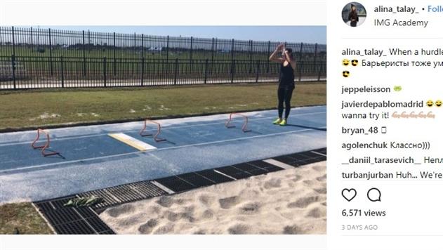 Алина Талай доказала, что барьеристы тоже умеют прыгать