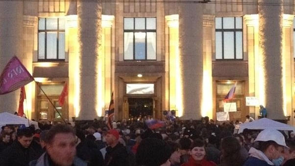 За захват Харьковской ОГА активиста посадят на 8 лет