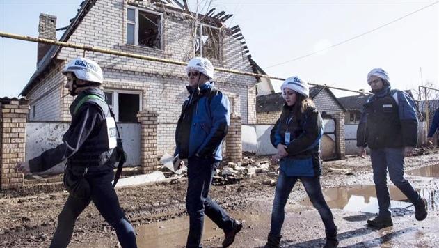 ОБСЕ насчитала 225 взрывов на Донбассе