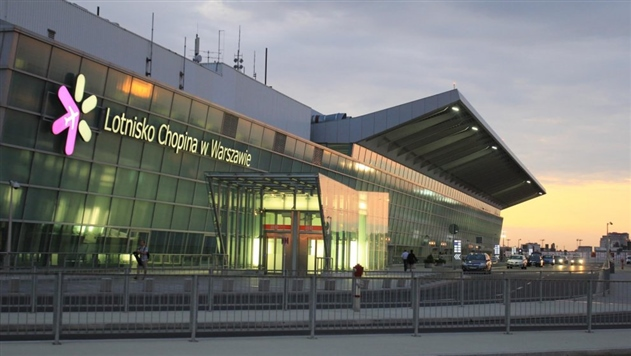 В аэропорту Варшавы убрали карты Польши с белорусскими территориями