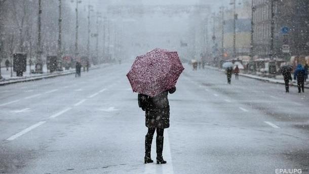 Украинцев предупреждают о тумане и гололедице