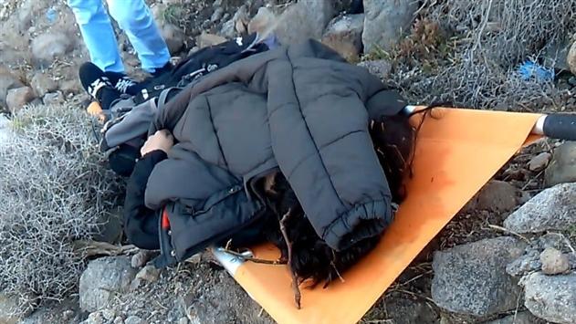 На берегу острова Лесбос нашли тела троих детей