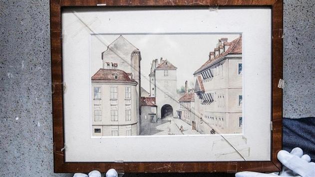 В Голландский институт попала картина Гитлера, купленная за 75 центов