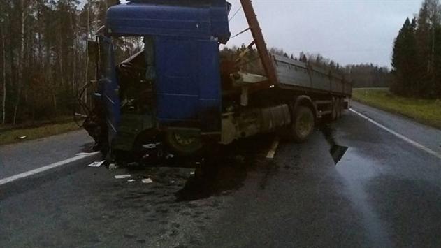В Оршанском районе в ДТП автомобиль разорвало надвое