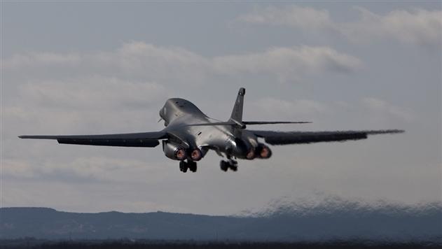 Над Корейским полуостровом пролетели бомбардировщики США