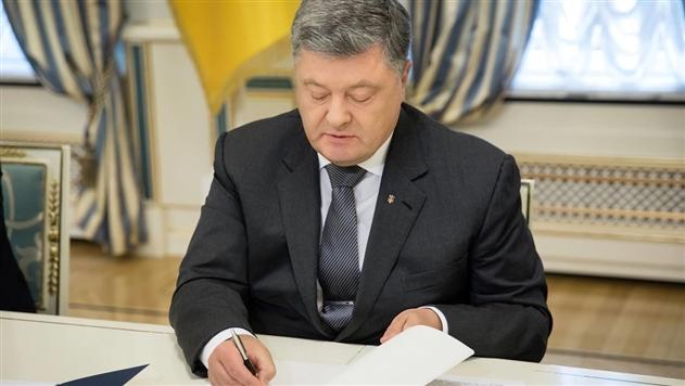 Порошенко одобрил закон о гастролях артистов из РФ