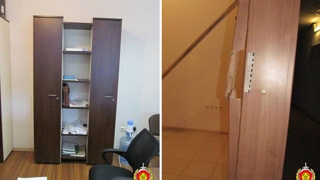 В Минске мужчина обокрал офис работодателя за