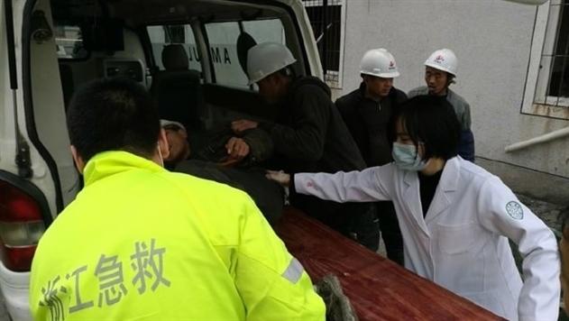 На востоке Китая произошел взрыв