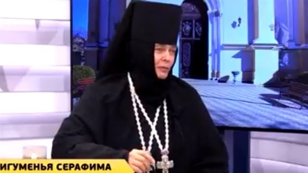 Настоятельница одесского монастыря свозила детей к патриарху Кириллу