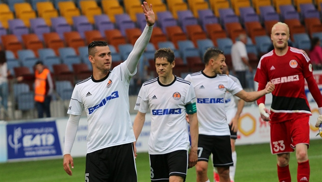 Жодинский «Торпедо-БелАЗ» покидают сразу 9 футболистов