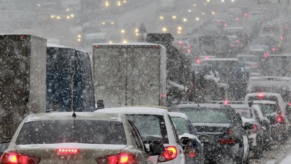 На большей части Беларуси ожидаются осадки, в основном мокрый снег