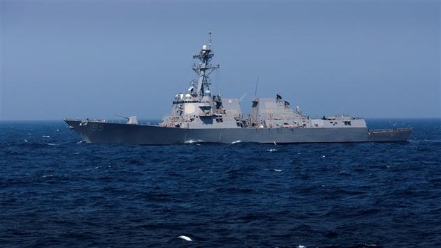 Американский ракетный эсминец направился в порт Одессы